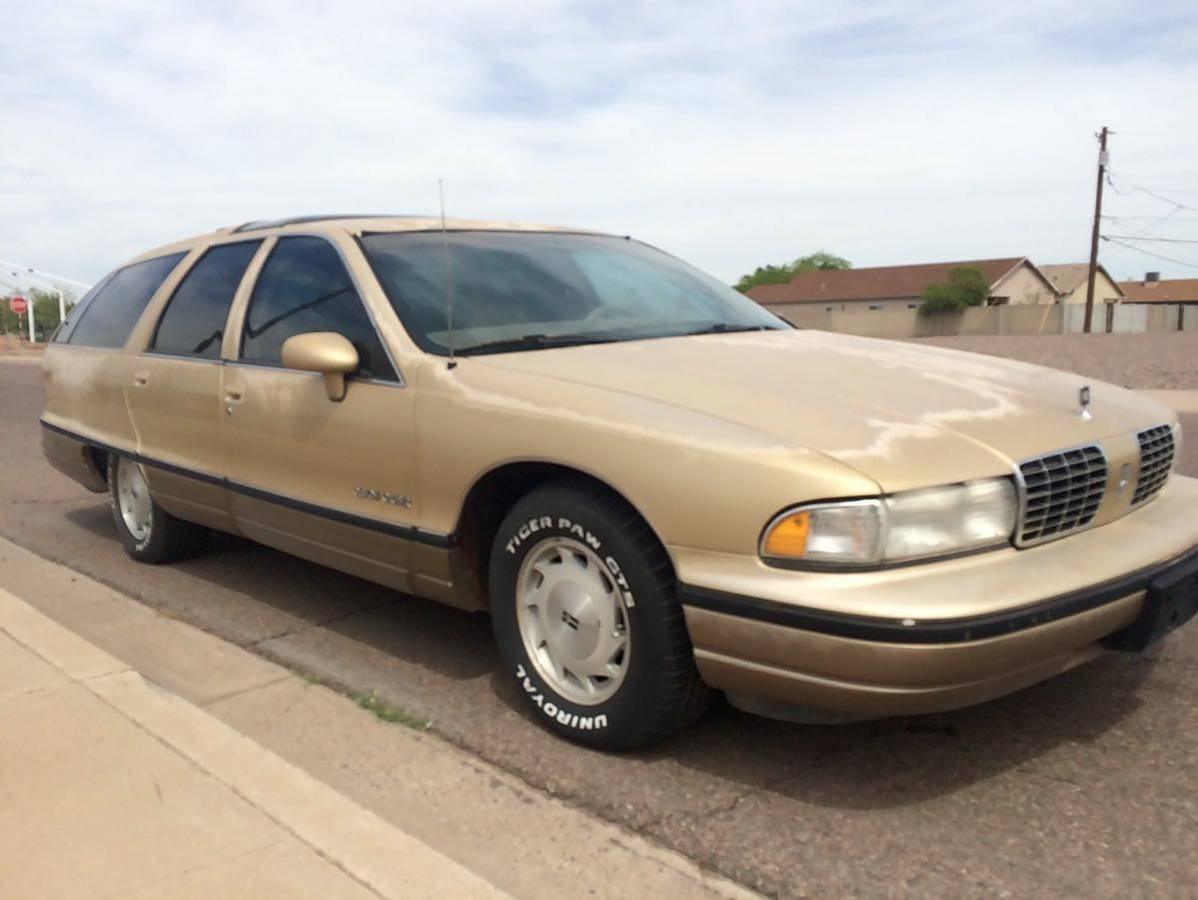 Rough Start: Long-roofin' It With An Oldsmobile Custom Cruiser!