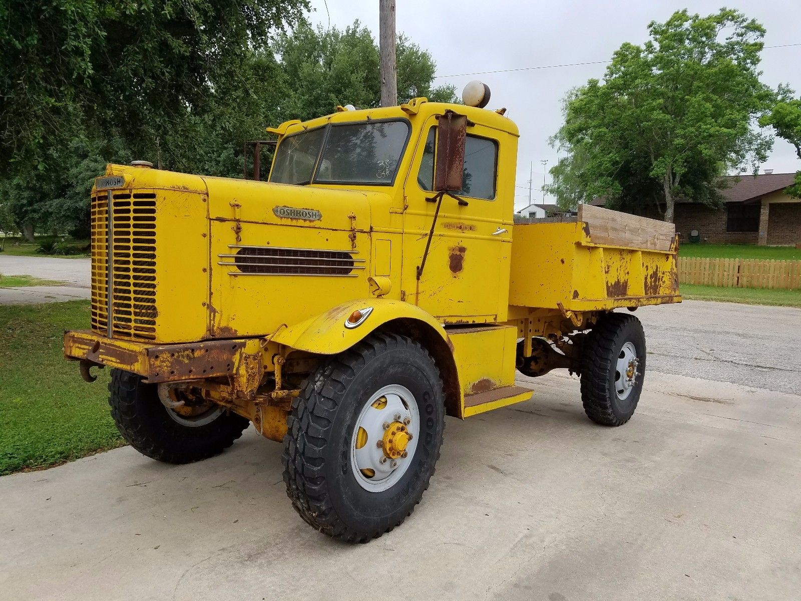 It's Big, It's Ugly, and We Want It! This 1950 Oshkosh W-212 Dump Truck Is A Seldom Seen Beast