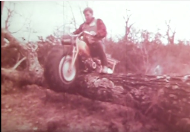Cool Vintage Video: This Footage Of Old Rokon Motorcycles Tackling The Terrain Is Great!