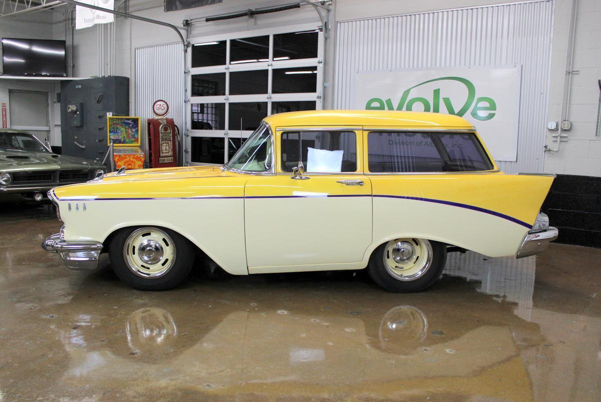 Day of Wagon Infamy eBay Find: This 1957 Chevy Shorty Wagon Is Done Right But So Wrong