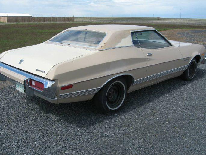 BangShift com Rough Start: This 1973 Ford Gran Torino Hasn't Been