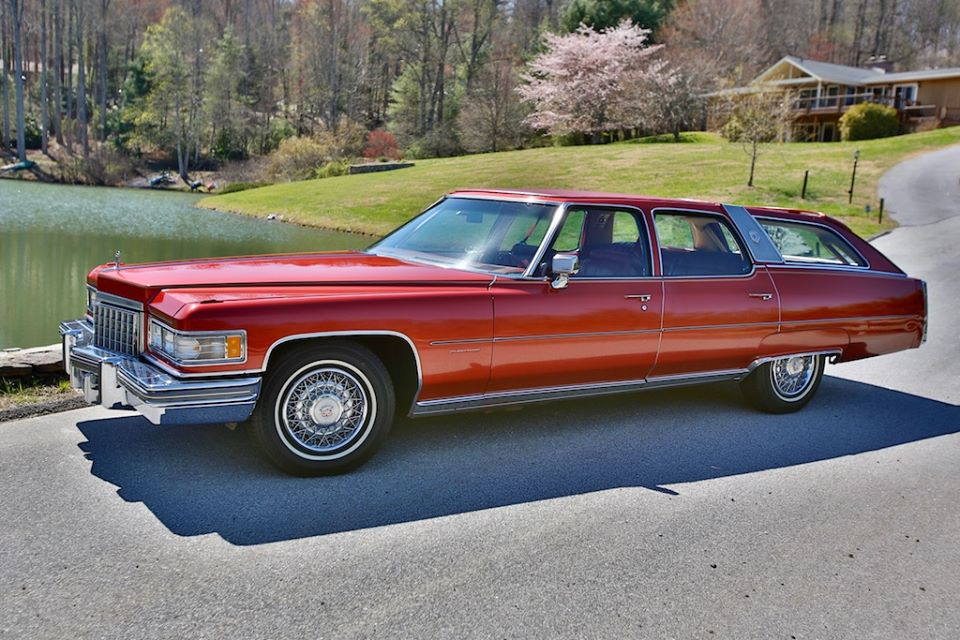 1975 cadillac castilian station wagon for sale rare. Black Bedroom Furniture Sets. Home Design Ideas