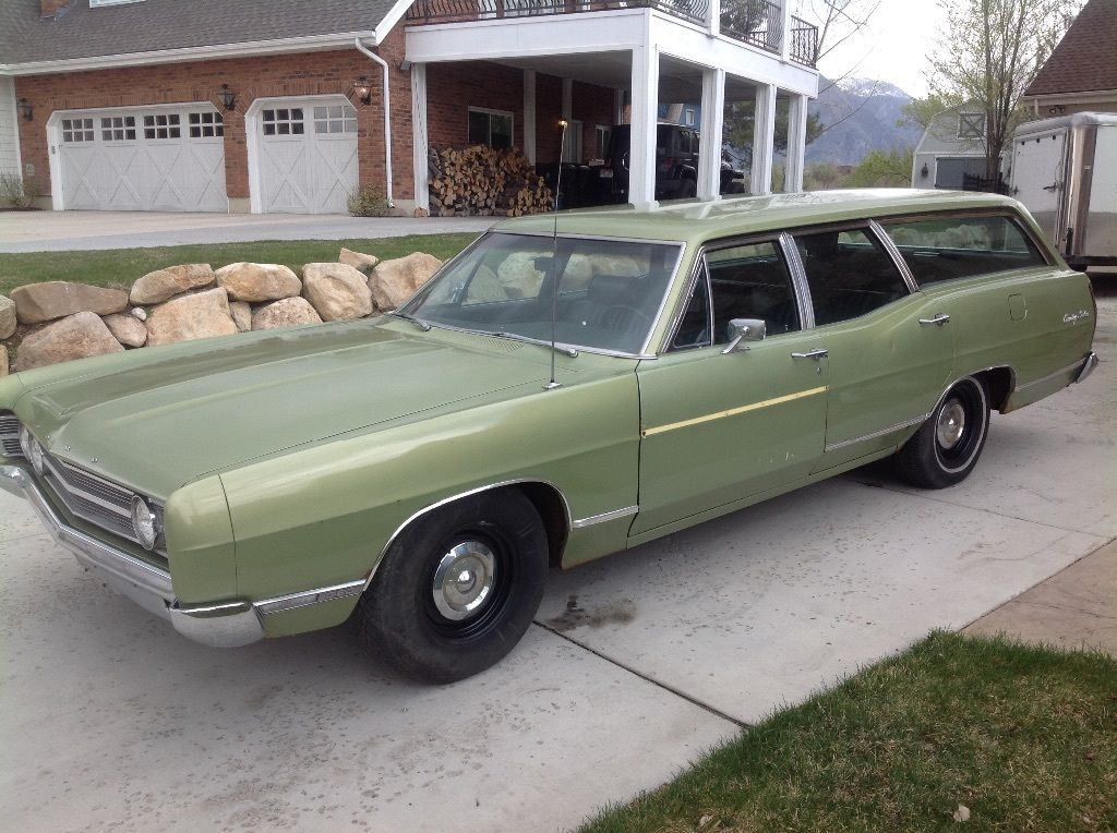 Bangshift Com 1969 Ford Country Squire For Sale On Ebay