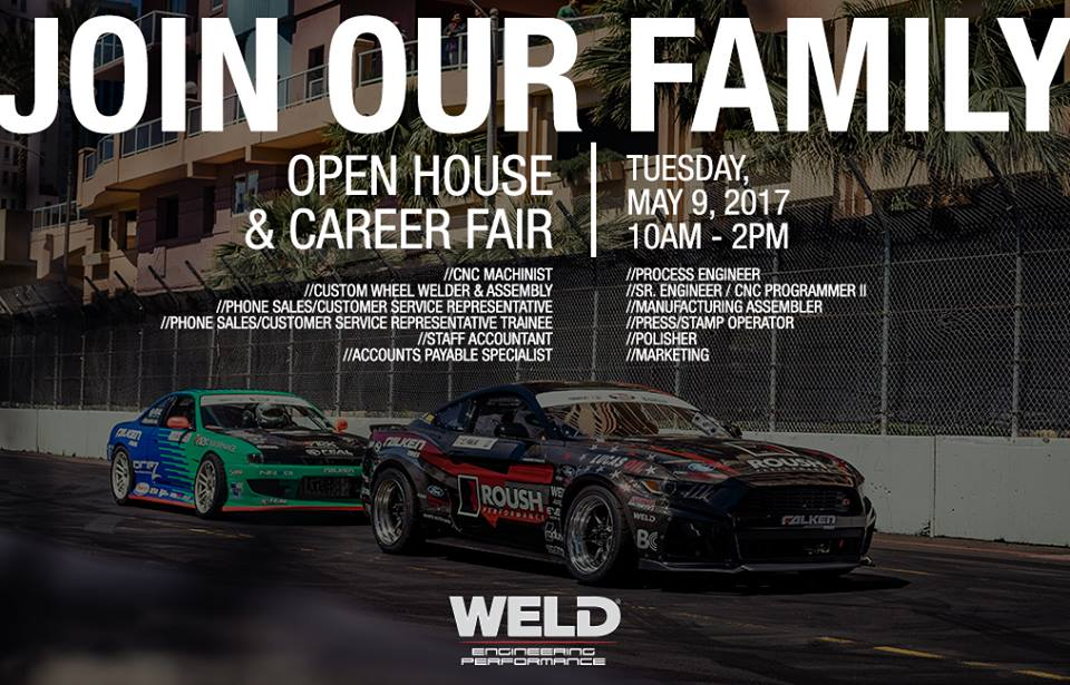 WELD Racing Is Hiring And They Want YOU To Join Their Team!