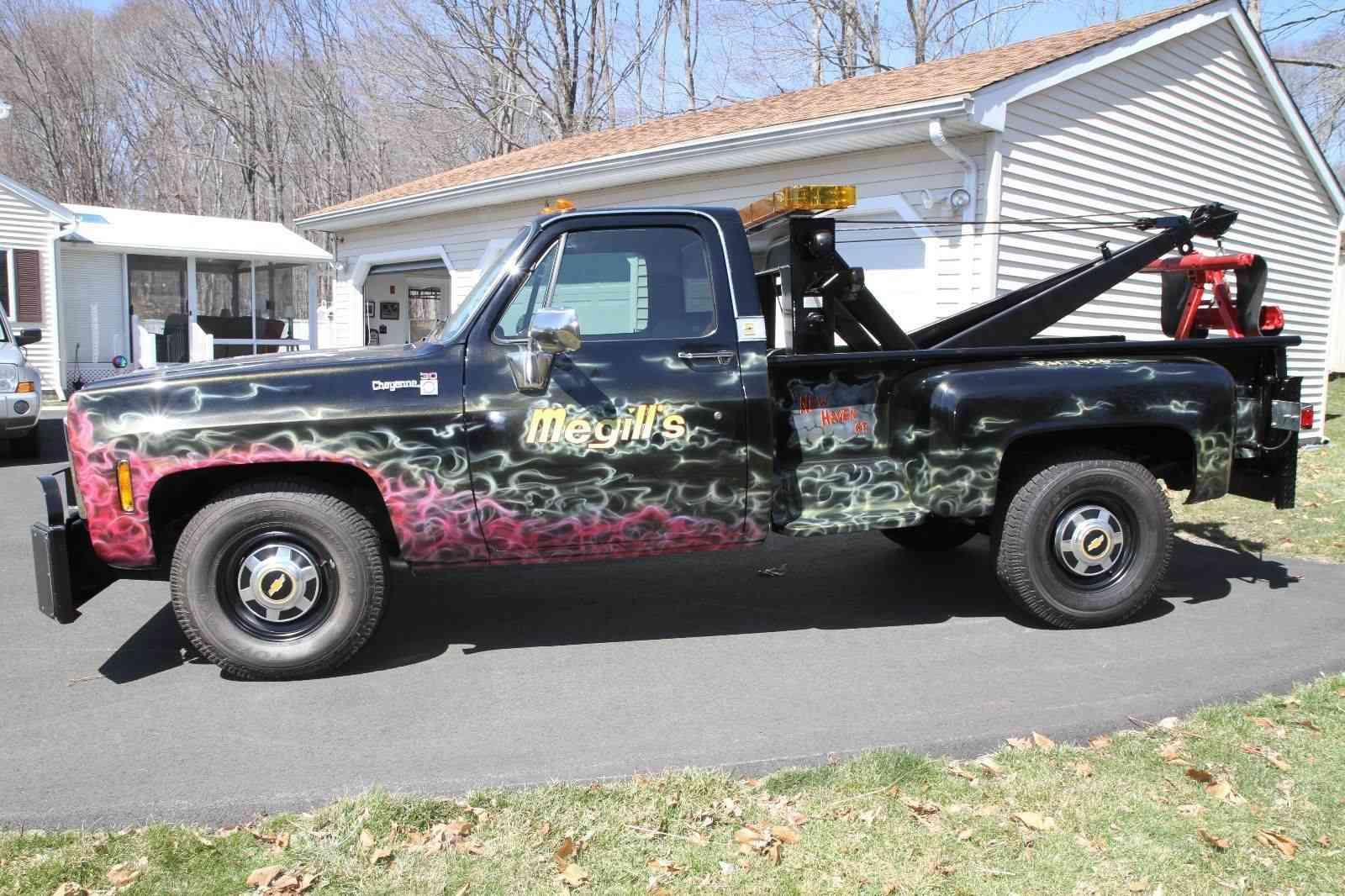 Gmc Truck For Sale >> BangShift.com 1979 GMC 3500 Cheyenne Pickup Truck Wrecker