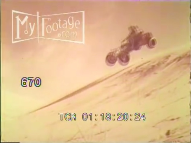 This 1950s/1960s Sand Car Video Is Awesome, Flopping Jumps And All