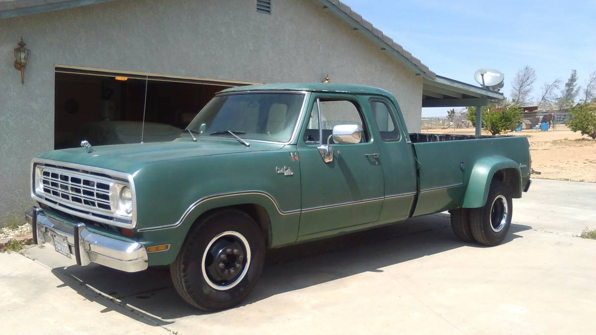 This 44k Mile 1974 Dodge Club Cab Dually Is The Perfect Pick For Wide Wednesday