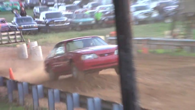 Classic YouTube: Can A Fox-Body Mustang Survive A Tough-Truck Course?