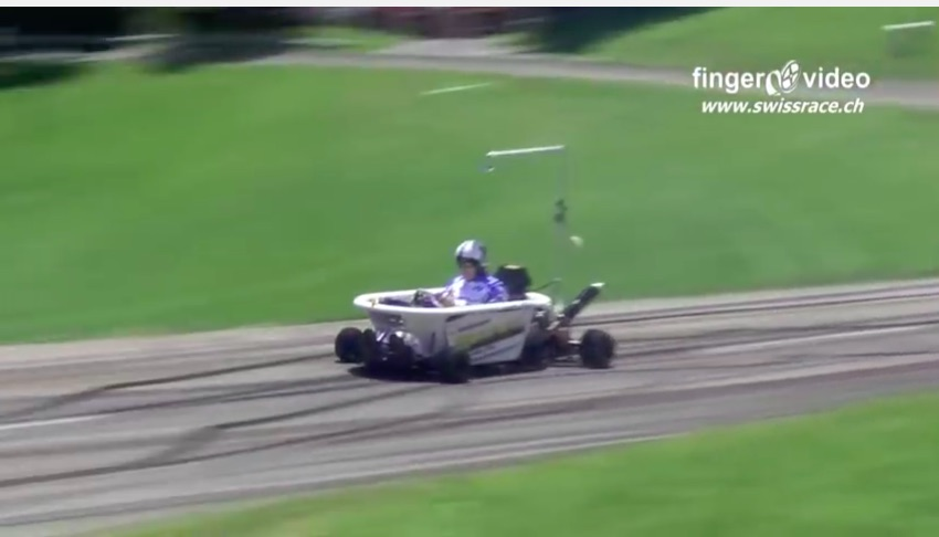 BangShift com Bathtub On A Shifter Kart Chassis And Attacked A Hillclimb