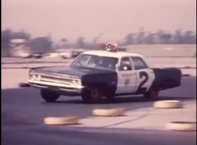 This 1974 Video Called Patrol Vehicle Operation: Emergency Driving Is Great – Recognize The Location?