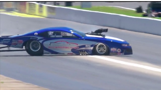 Watch Larry Morgan's Wild Slip and Slide Pro Mod Ride From Atlanta – Tire Shake Makes Things Weird Quick