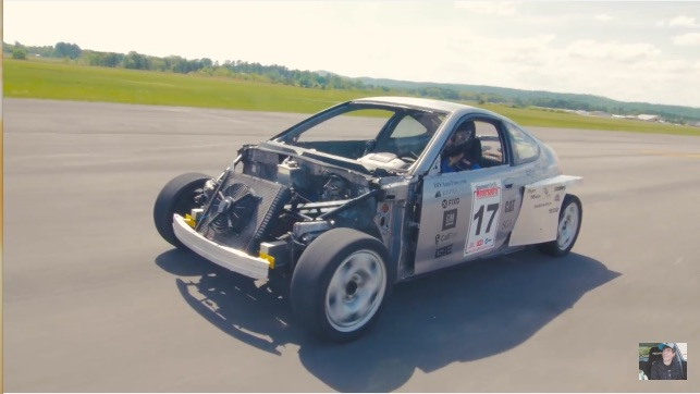 The Ultimate Kitbash: The Skeleton Of A Honda Insight, The Guts Of A Subaru SVX, The Soul Of A Porsche!