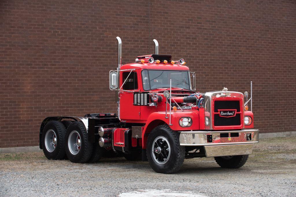 This 1972 Brockway G90 Truck Is A Detroit Diesel V12 Powered Stunner