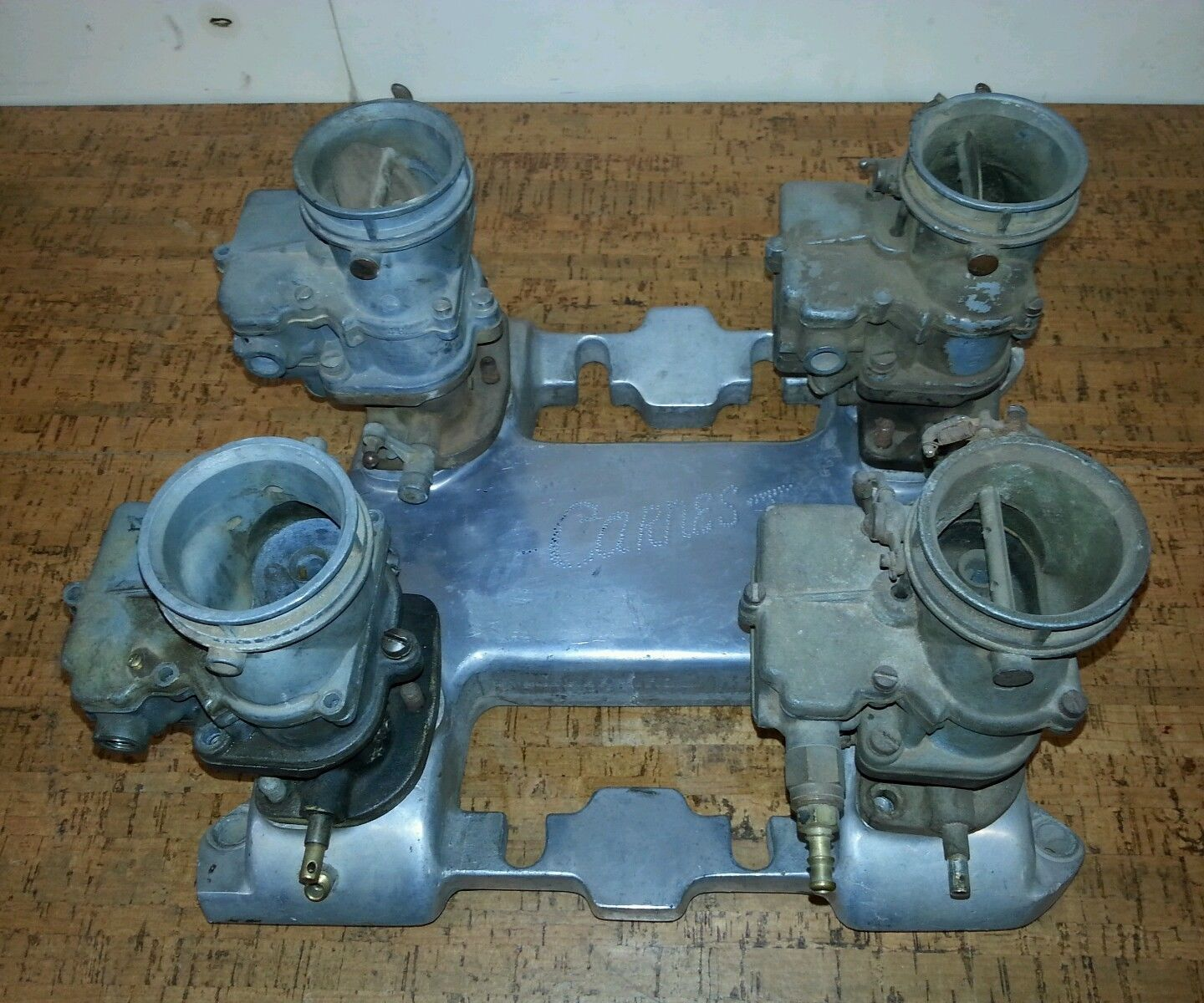 This Insanely Rare Horne Cadillac Intake Manifold Is The Coolest Speed Part On eBay Right Now