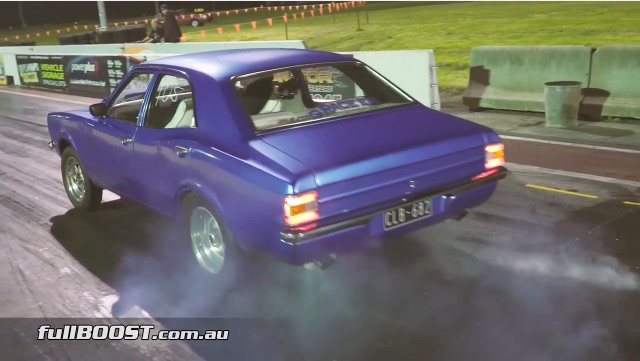 Turbocharged Barra FTW! This Little Ford Cortina Gets Moving With Six Buzzing!