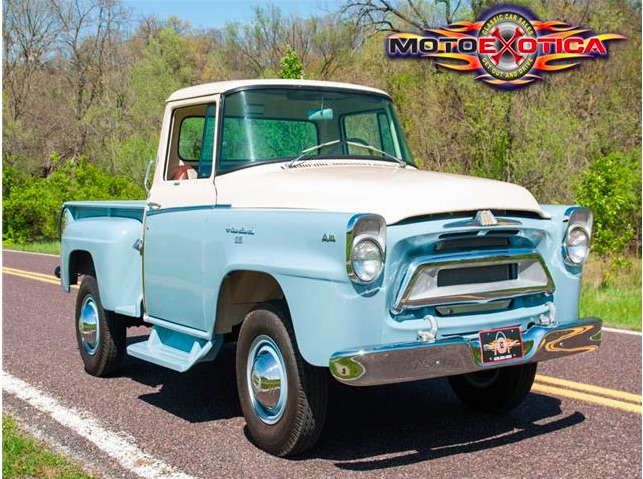 Not A Frame Swap This 1957 International Harvester A120 Is Factory 4x