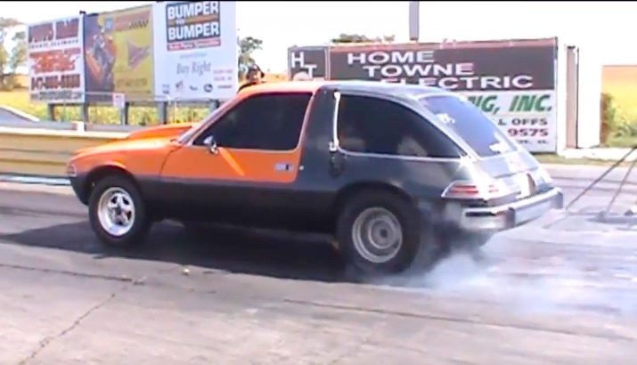 Classic YouTube: A Pontiac-Powerd AMC Pacer That Moves Out!