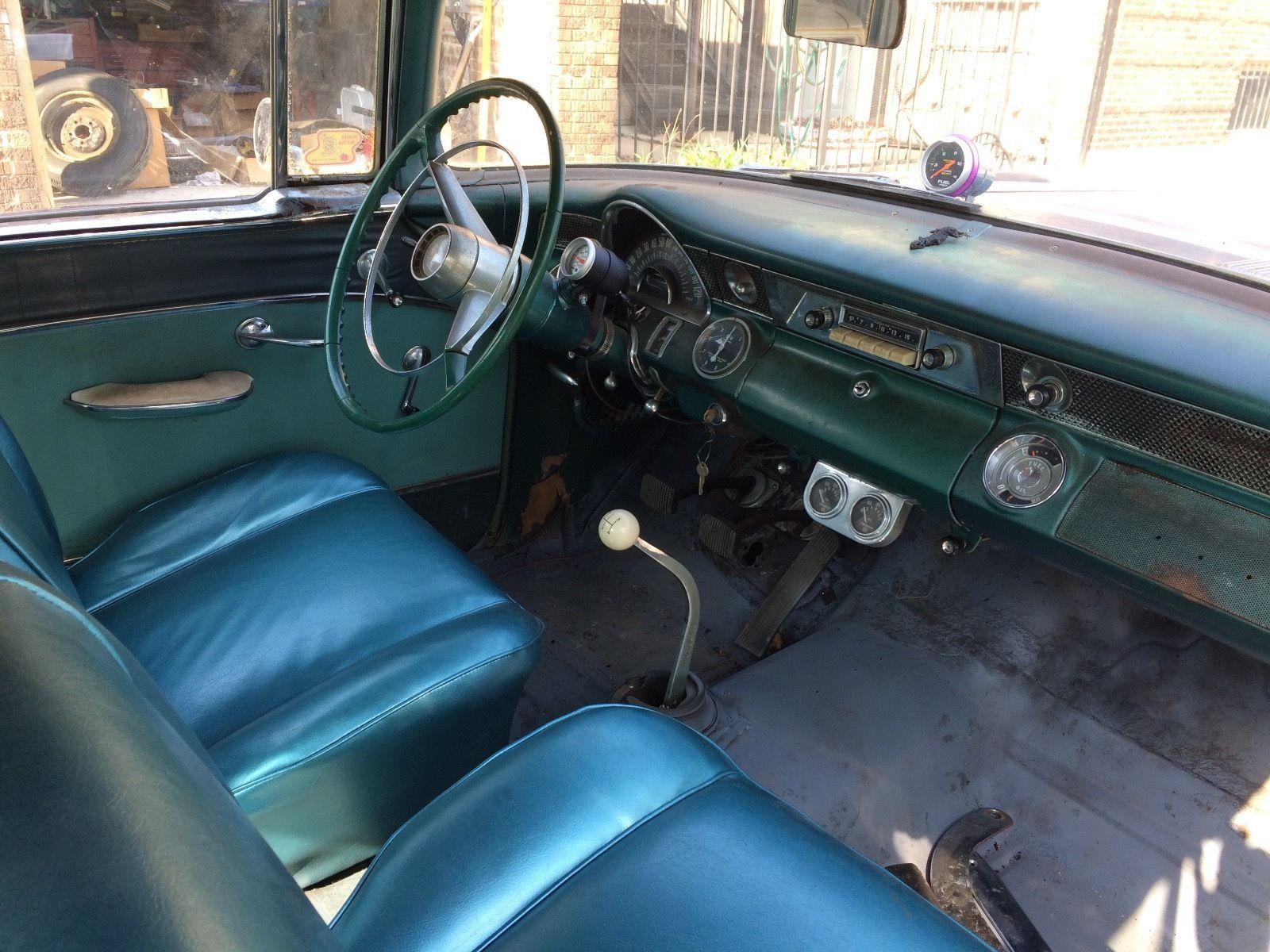 EBay Link 421 Powered 1955 Pontiac Barn Find