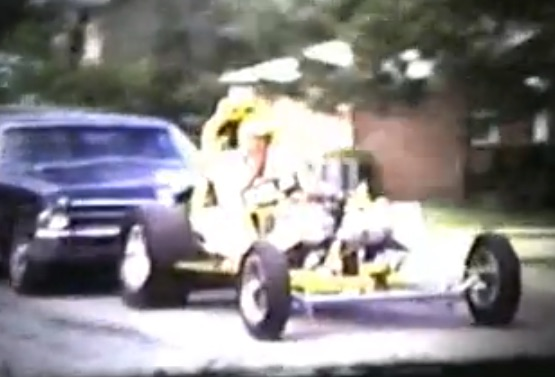 Home Movie Footage From The 1960s Showing An Altered Being Push Started On A Neighborhood Street!