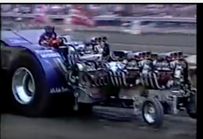Vintage Viciousness: This 1986 Video From The Bowling Green National Pulling Championships Features The Huge 9,000lb Modified Class