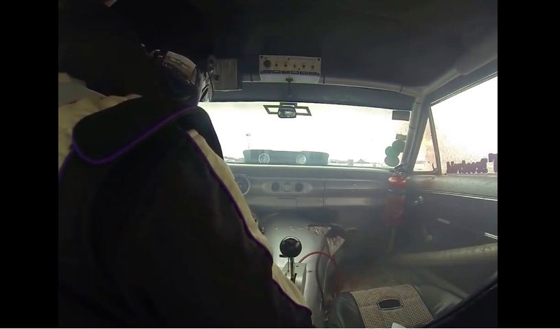 Watch This Racer Suffer A Transmission Explosion From Inside The Car