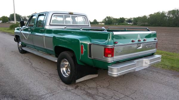 Chevy 3 3 >> Bangshift Com 1980 Chevy 3 3 Dually With 30 000 Miles For Sale On
