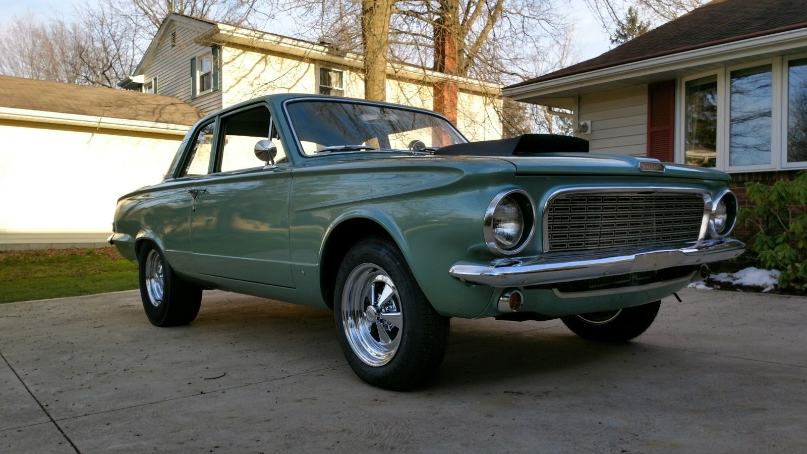Drag Racing Tractor >> BangShift.com Neat As A Pin: A 1963 Plymouth Valiant Clean ...