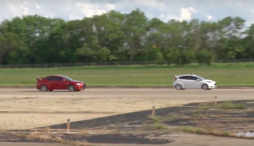 Evil Little Pill: This Ford Fiesta ST Is Kicking Everybody's Backside At A Half-Mile Run!