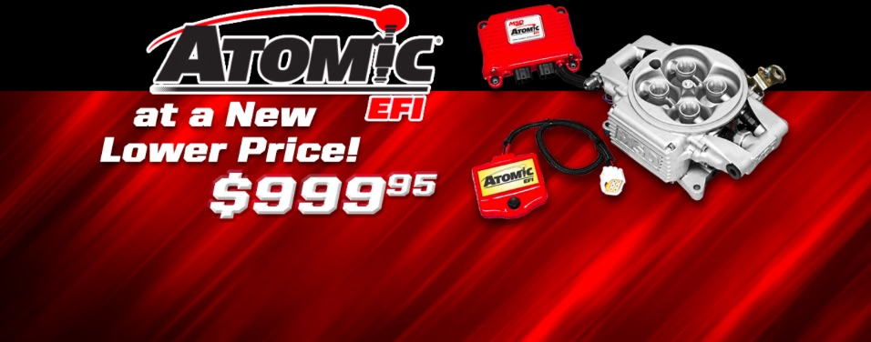 Go Atomic For Less Than A Grand! MSD Reduced Atomic EFI Pricing To $999