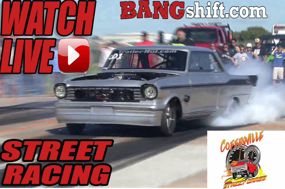 We Will Have LIVE No Prep Street Racing Saturday From The Coffeyville Street Drags In Kansas