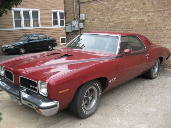 This Four-Speed Equipped 1973 Pontiac GTO Is A Large and Rare Bird – Late Muscle Coolness