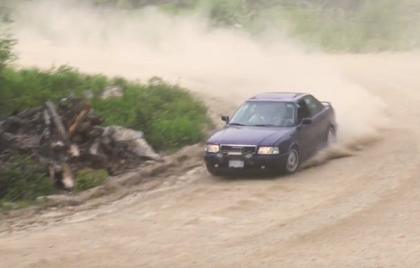 The Ultimate Car Drive/Review: Running A Rally-Prepared Audi With The Owner In The Passenger Seat!