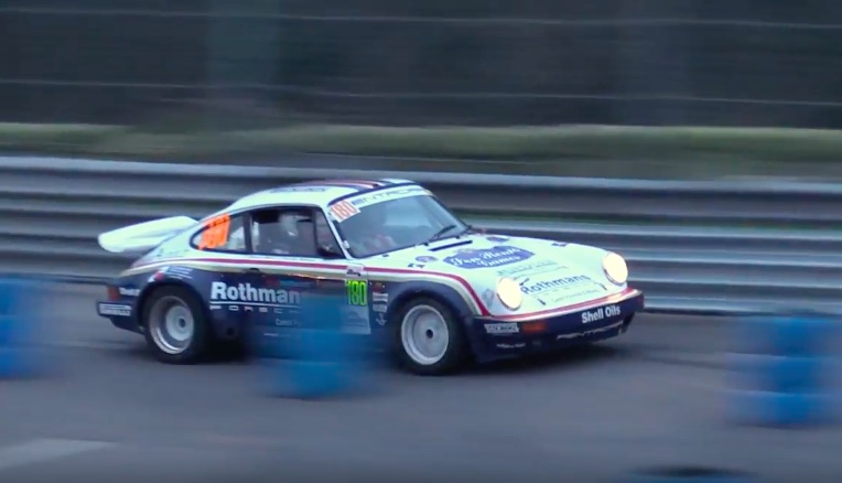 Morning Symphony: The Rothsmans Group B Porsche 911 Being Used As Intended