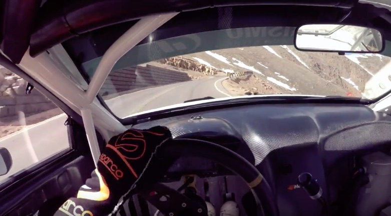 Ride With Rhys Millen As He Rips Up Pikes Peak In His Time Attack Hyundai Genesis!