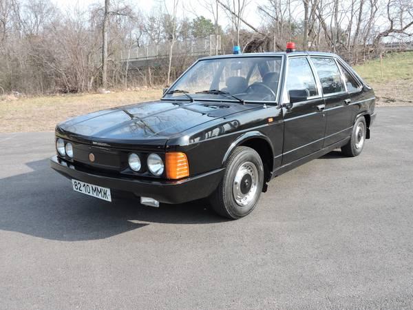Bangshift Com Rear Mounted Air Cooled V8 Anyone This 1989 Tatra 613 Is Up For Grabs