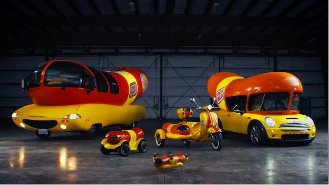 Meet The Weinerfleet: Big Or Small, There's An Oscar Meyer Weiner-Vehicle For Them All!