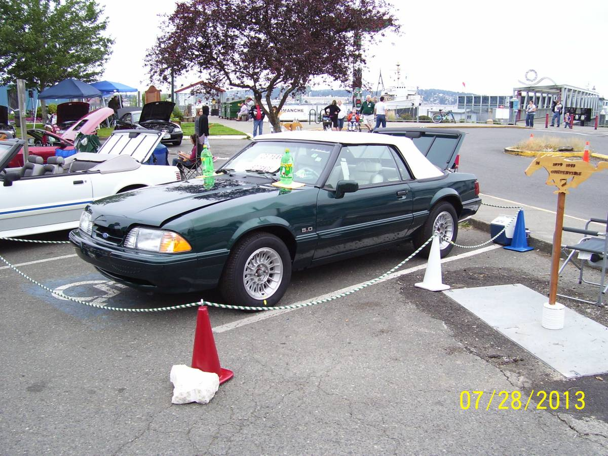 Bangshift com the hidden fox this 1990 ford mustang 7 up special