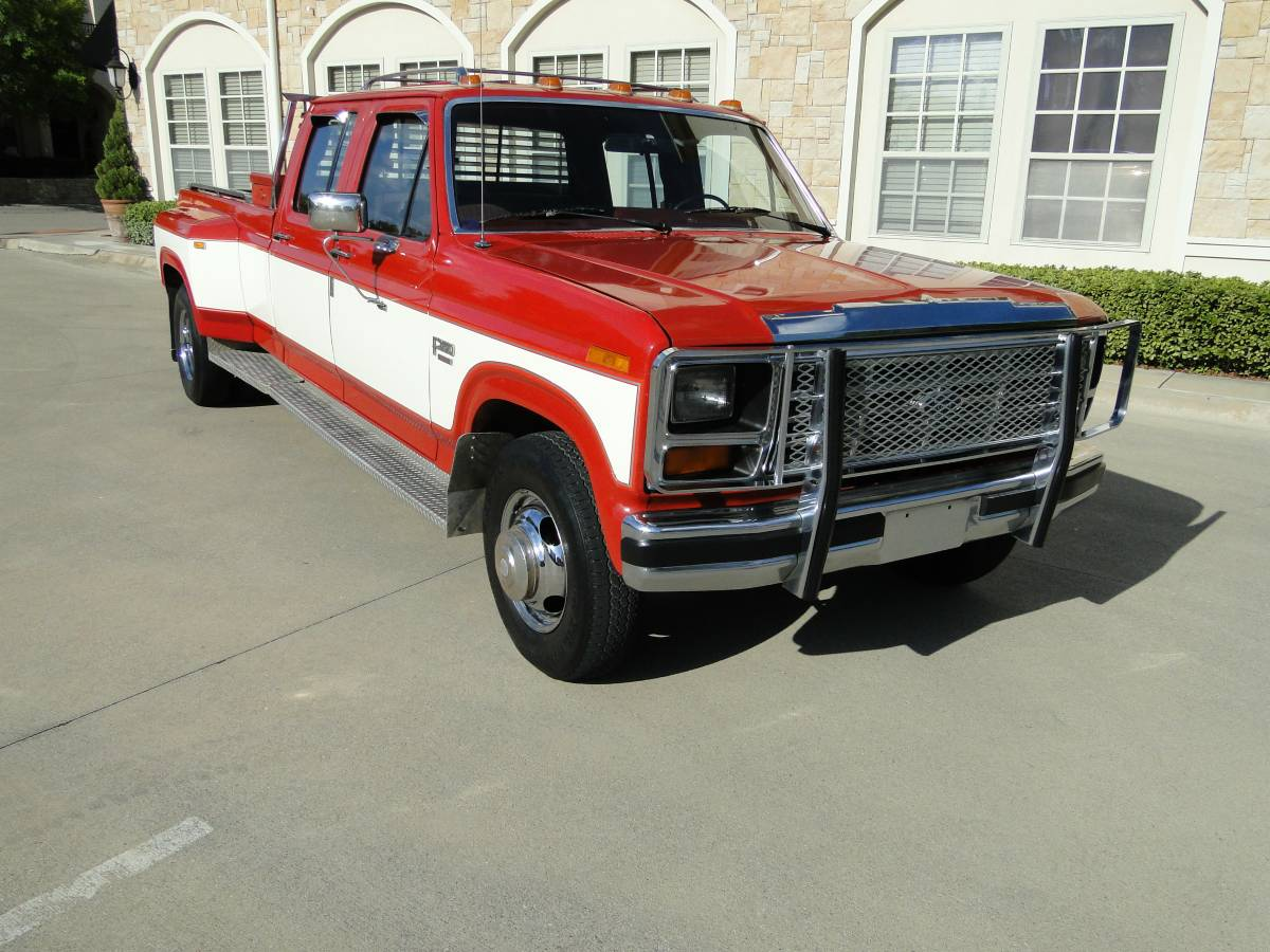 bangshift com this may be the cleanest 1980 s ford dually on the rh bangshift com 2012 Ford F 350 Dually 1980 Ford F 350 Colors That Year