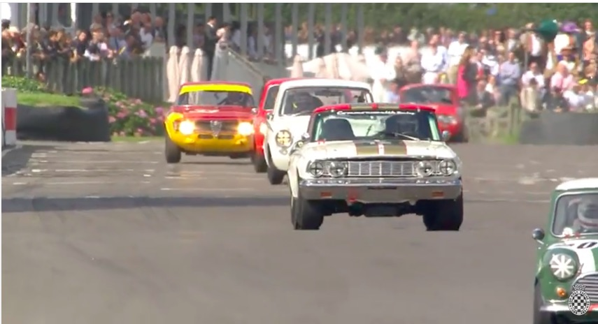 """Watch Tom """"Mr. Lemans"""" Kristensen Take The Legendary Alan Mann Thunderbolt From 4th To First In One Lap!"""