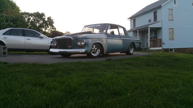 This Kid's First Car Is An V8-Swapped Studebaker He Built For Under $2000, And It Absolutely Rips!
