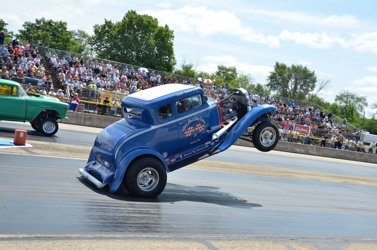 Meltdown Drags 2017 Photo Coverage: More Wheels Up, Old School, Tire Frying Fun!