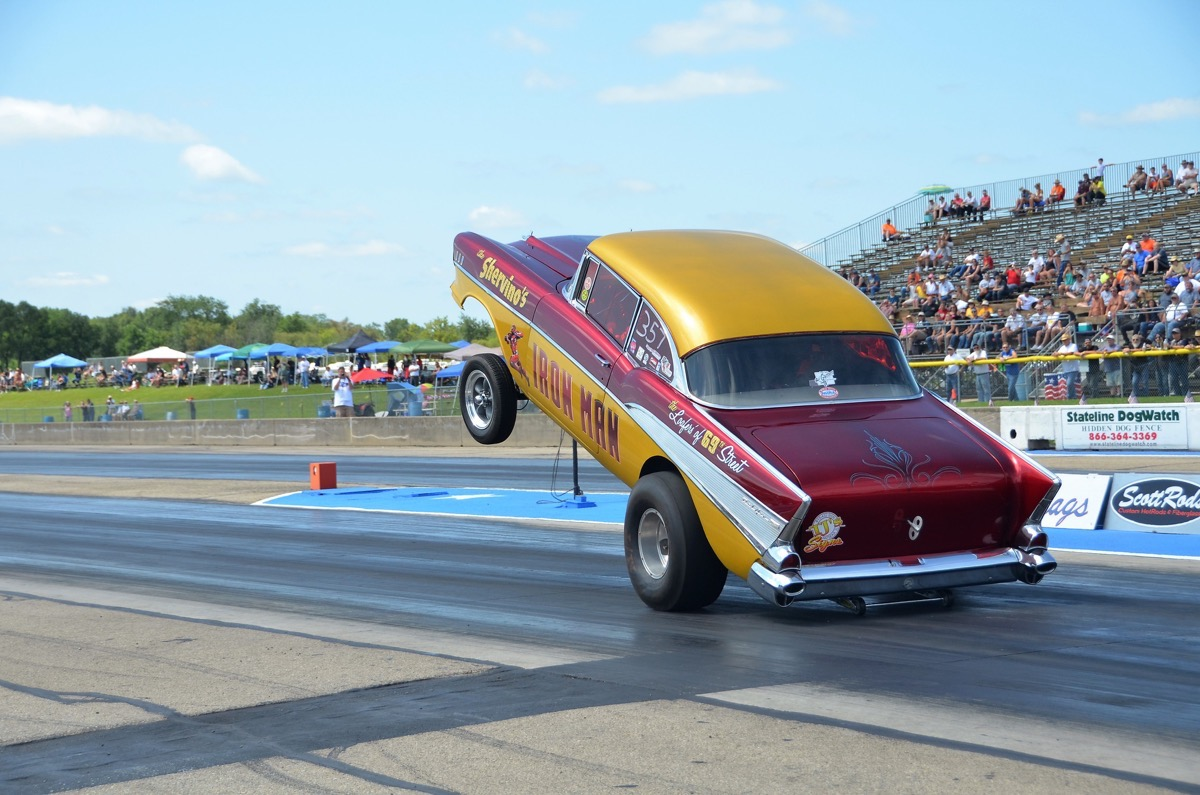 2017 Meltdown Drags Coverage: Tons of Tri-Five Chevys and Gassers Galore!