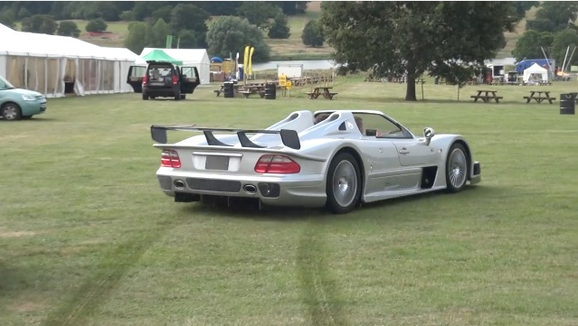 Treat It Like A Rental: That's $2 Million Worth Of Mercedes Ripping Up The Lawn!
