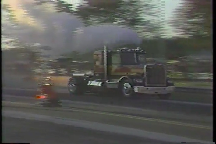 This Vintage 1981 Footage of Bob Motz and His Jet Kenworth Highlights The Worst Job In NHRA History