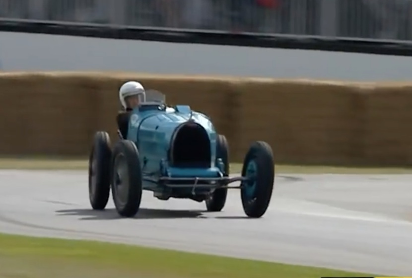 Respect Your Elders: Watch This 1927 Bugatti Type 35B Absolutely Scream At Goodwood 2017!