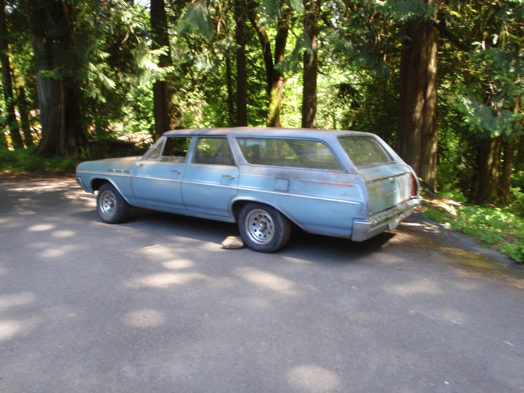 BangShift Project Files: This 1964 Buick Skylark Wagon Was Picked Up For A Song!