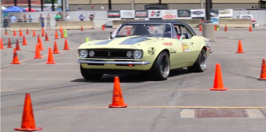 Take A Few Rips Around The Goodguys PPG Nationals Autocross With The 48-Hour Camaro and Bret Voelkel