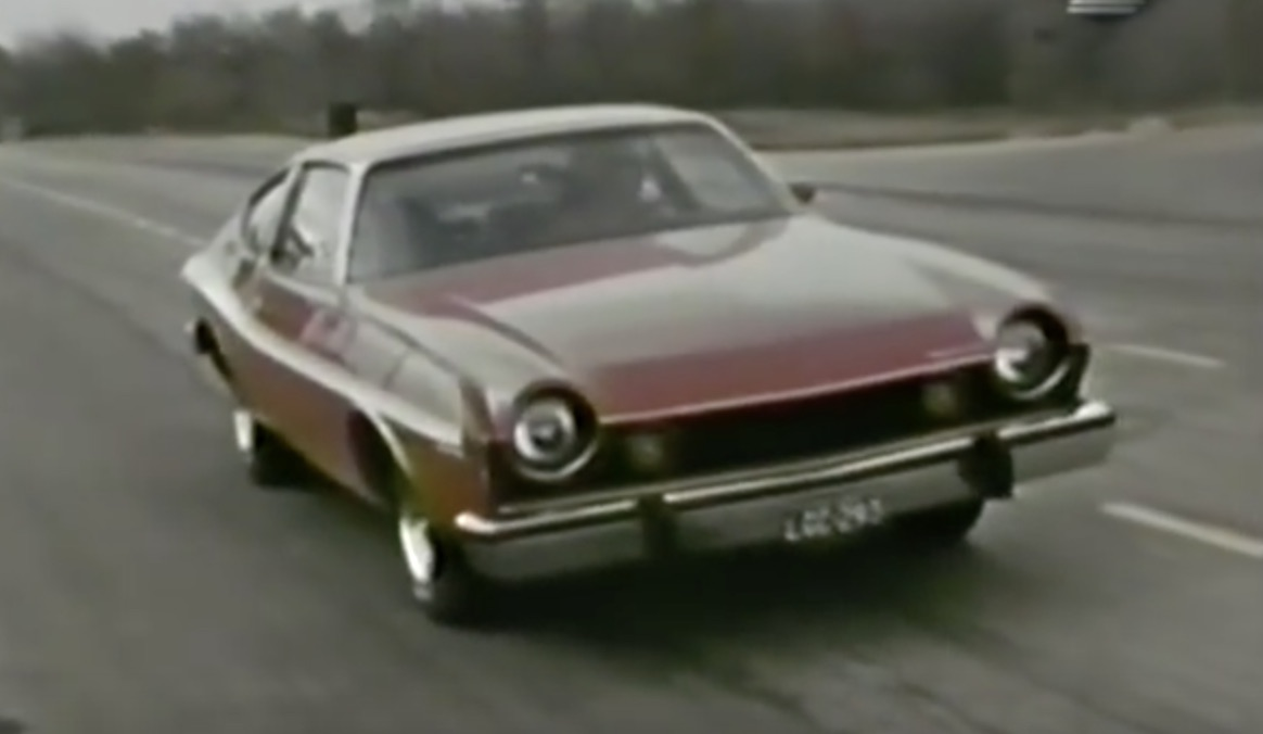 Historical Footage: Throwing The 1974 AMC Matador X Around The Track!