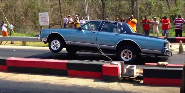 Bangshift Com Think Donks Have No Business On The Track Check Out