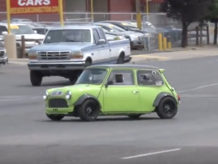 Light And Mighty: This Hayabusa-Swapped Mini Is An Evil Little Machine!